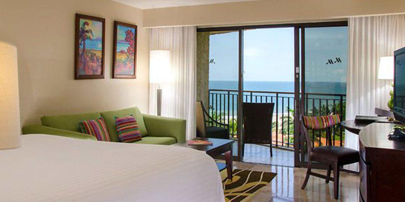 Balcony Bedroom Luxury Modern Scenic views Suite property condominium Villa Resort living room cottage flat