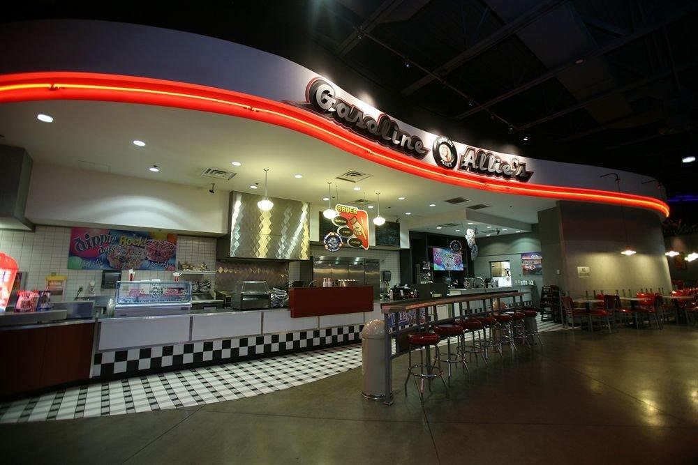 building shopping mall food court restaurant Bar public transport