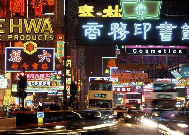 night street food signage restaurant neon sign Bar