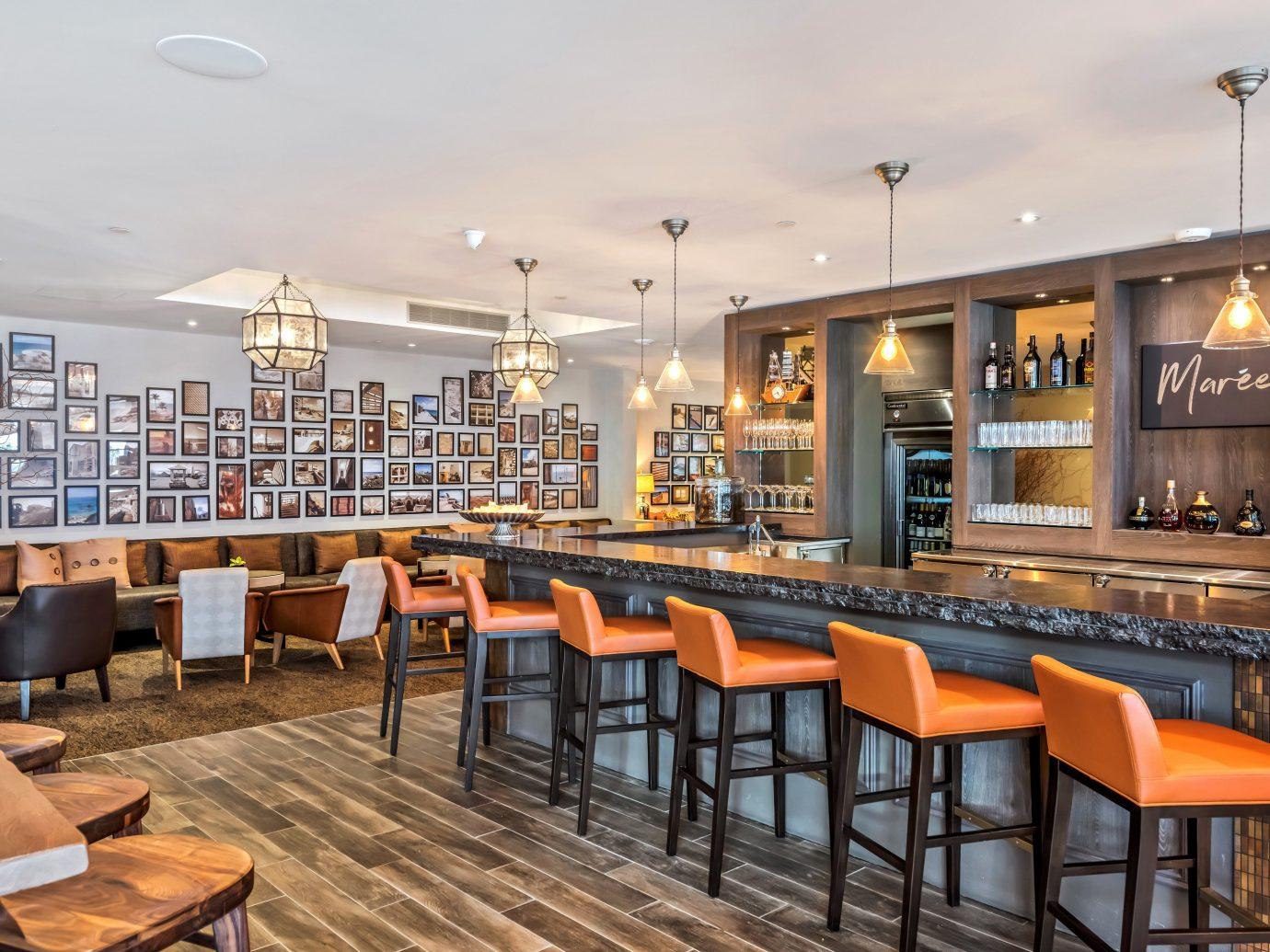 Bar at Bedroom at The Loren