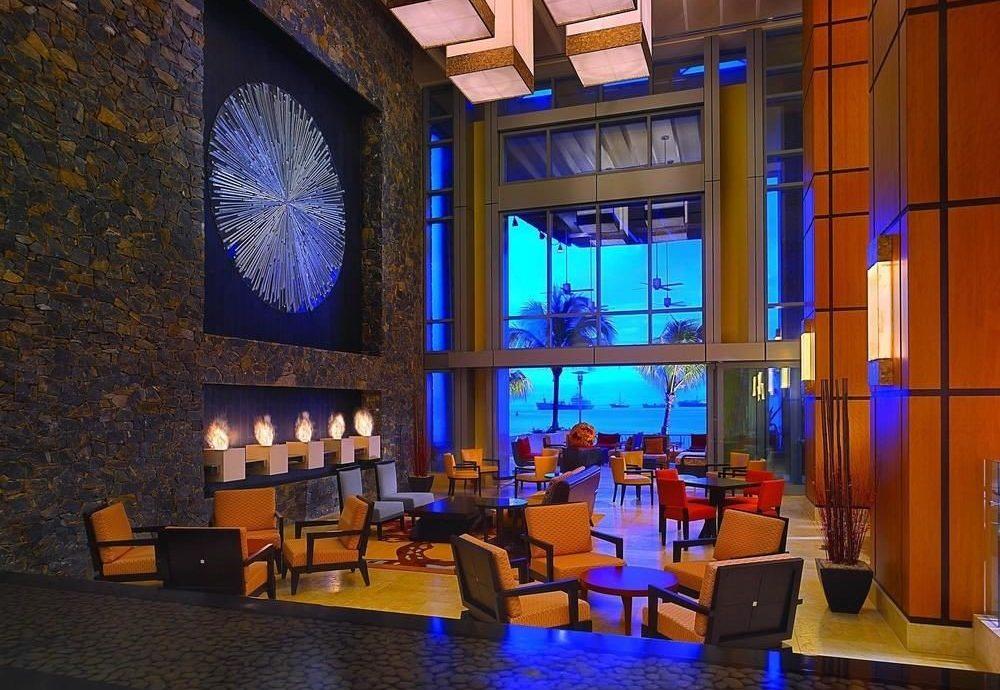 Bar restaurant lighting Lobby mansion living room