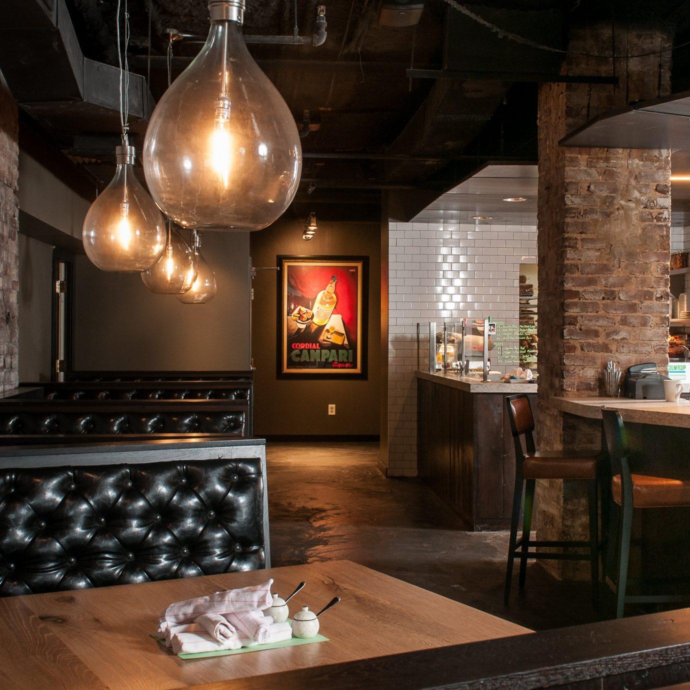 Lobby restaurant Bar lighting