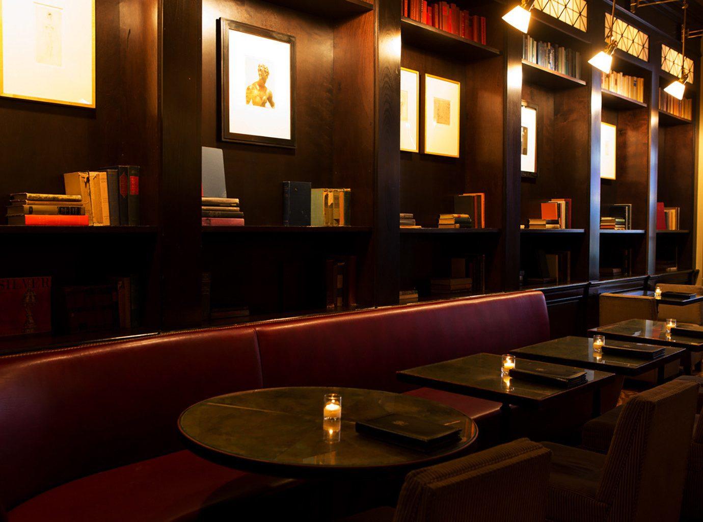 Modern restaurant Bar lit lighting function hall light