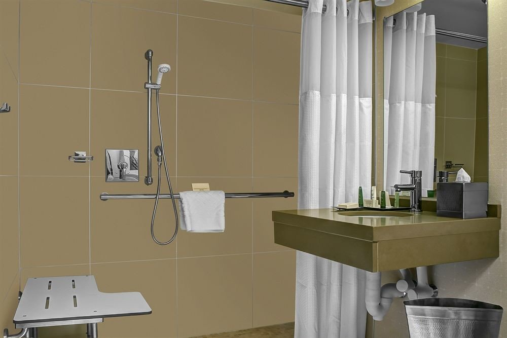 bathroom sink plumbing fixture