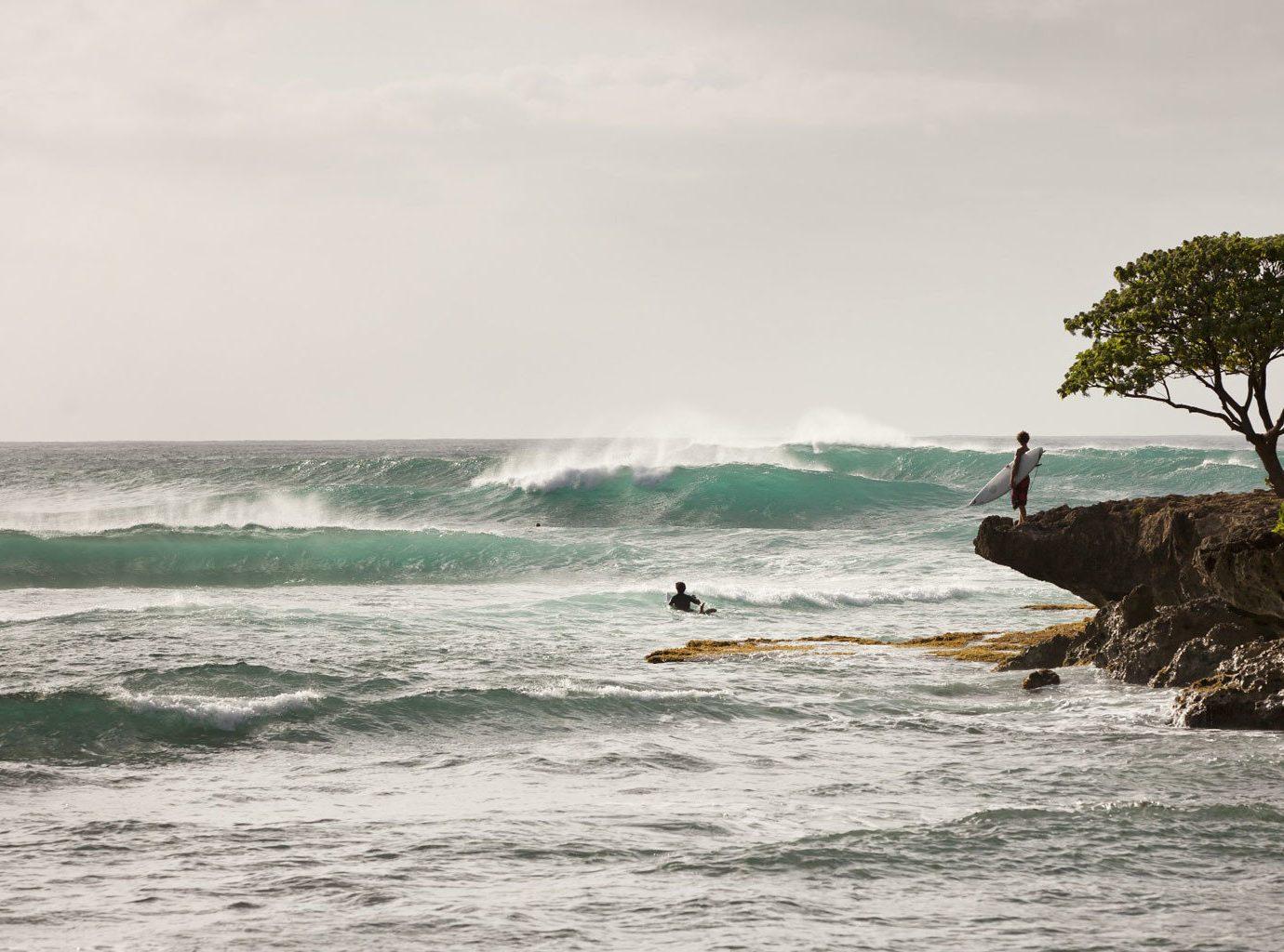 Beach Beachfront Ocean water sky shore Sea wave wind wave Coast water sport surfing surfing equipment and supplies boardsport surfboard cape wind