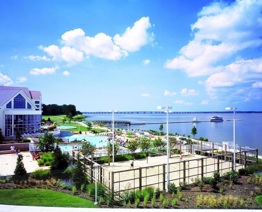 Waterfront sky grass property caribbean Ocean Resort Beach Sea Coast dock marina walkway