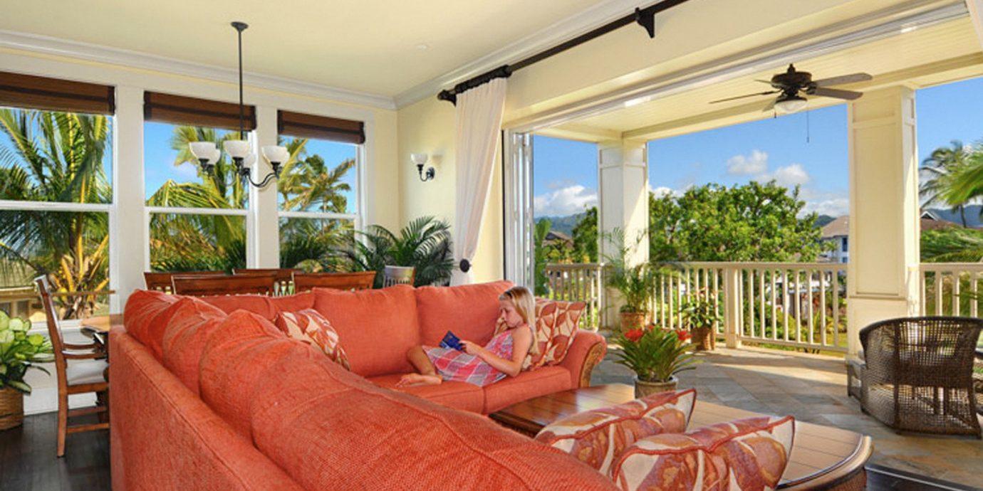 Beach Family Natural wonders Outdoor Activities sofa property Resort home living room Villa condominium cottage porch Suite