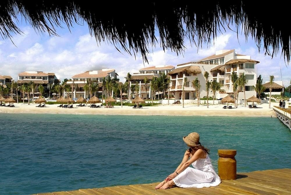 water sky leisure Resort shore Sea caribbean swimming pool Nature Beach
