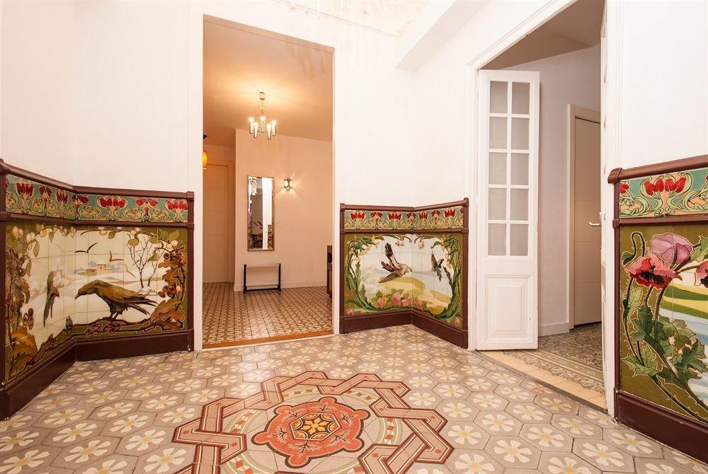 property Bedroom home living room hardwood cottage bed sheet flooring painted