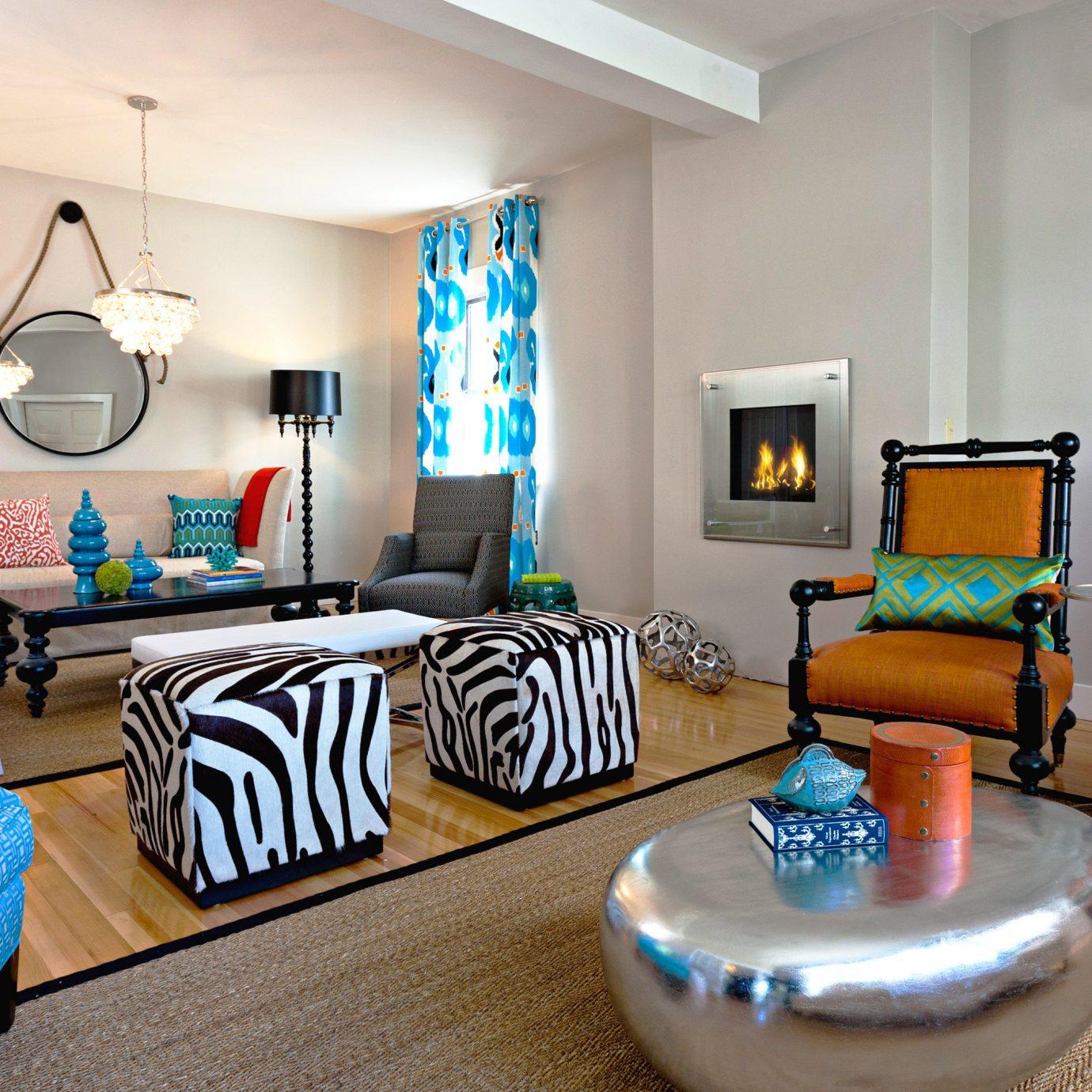 Boutique property living room home cottage Bedroom Suite condominium leather