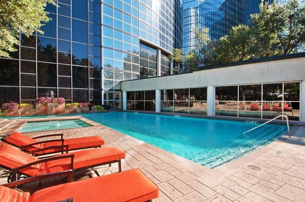 Bedroom City Pool tree leisure swimming pool property condominium Resort leisure centre plaza backyard lined colored