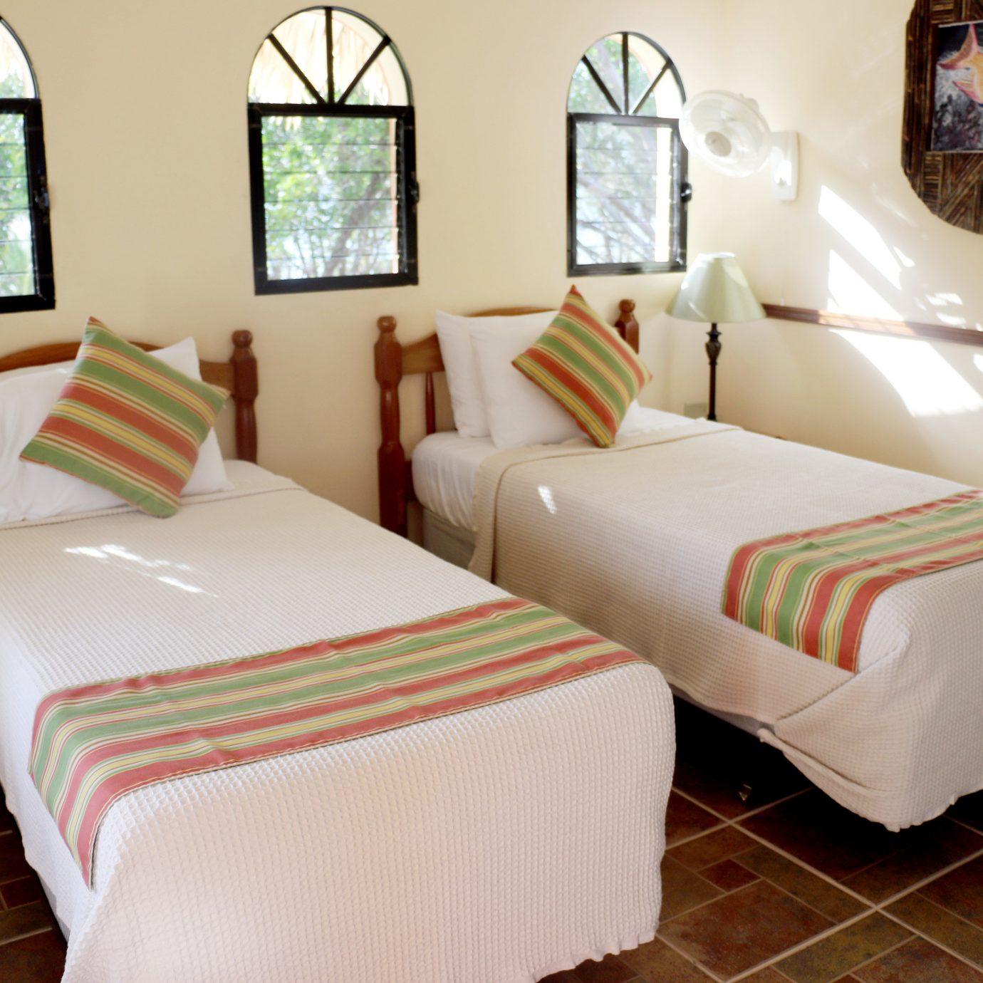 Bedroom Classic Eco Resort property cottage Suite bed sheet