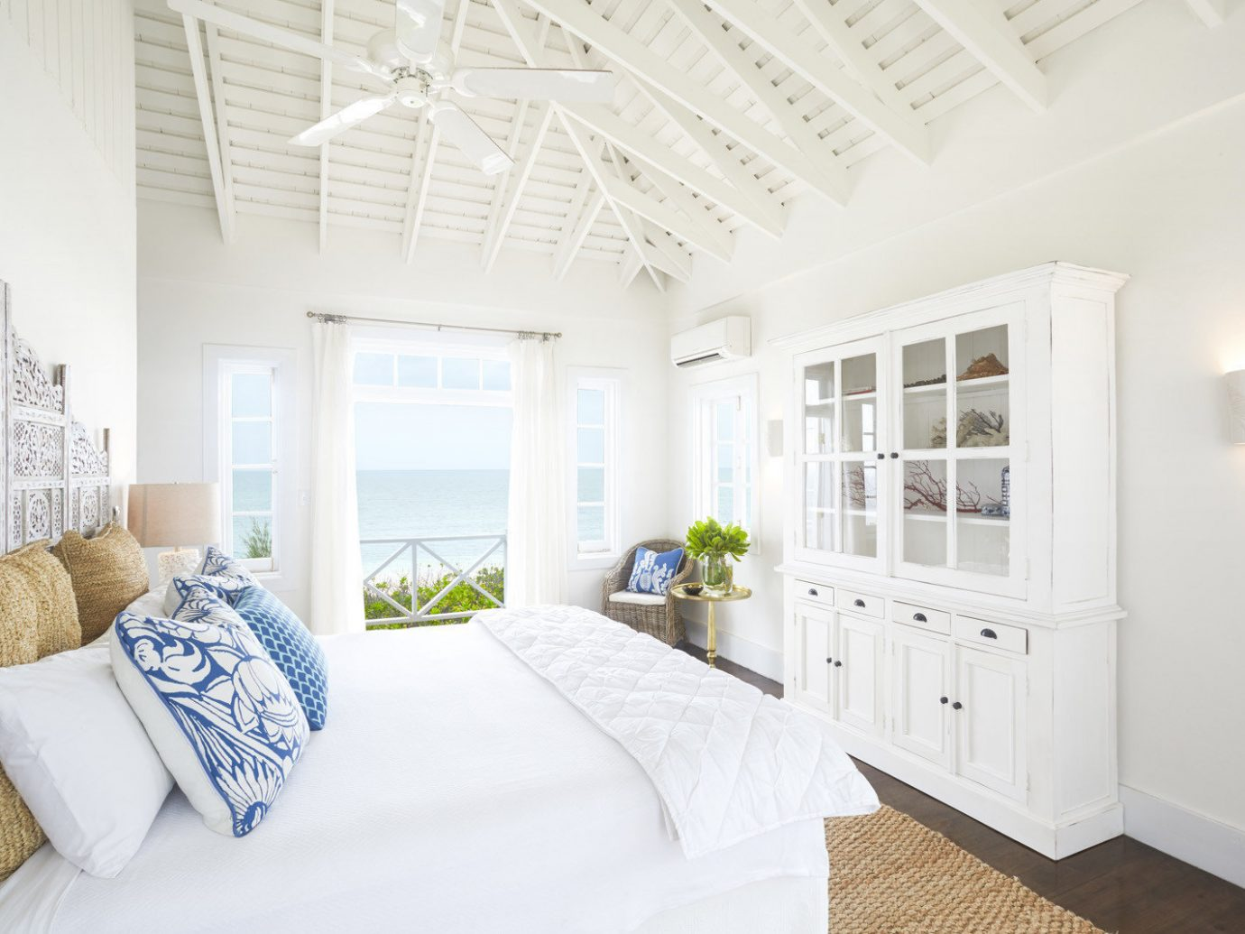 Bedroom at Kamalame Cay in the Bahamas