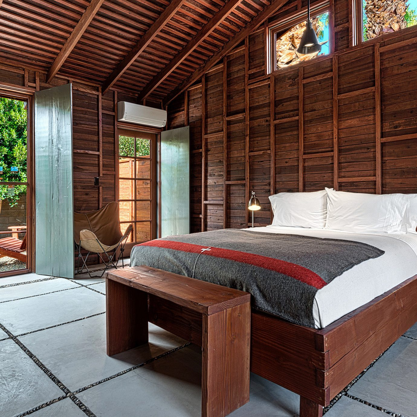 Bedroom Courtyard Hotels Lodge Lounge Patio Rustic Terrace property house home cottage Villa stone