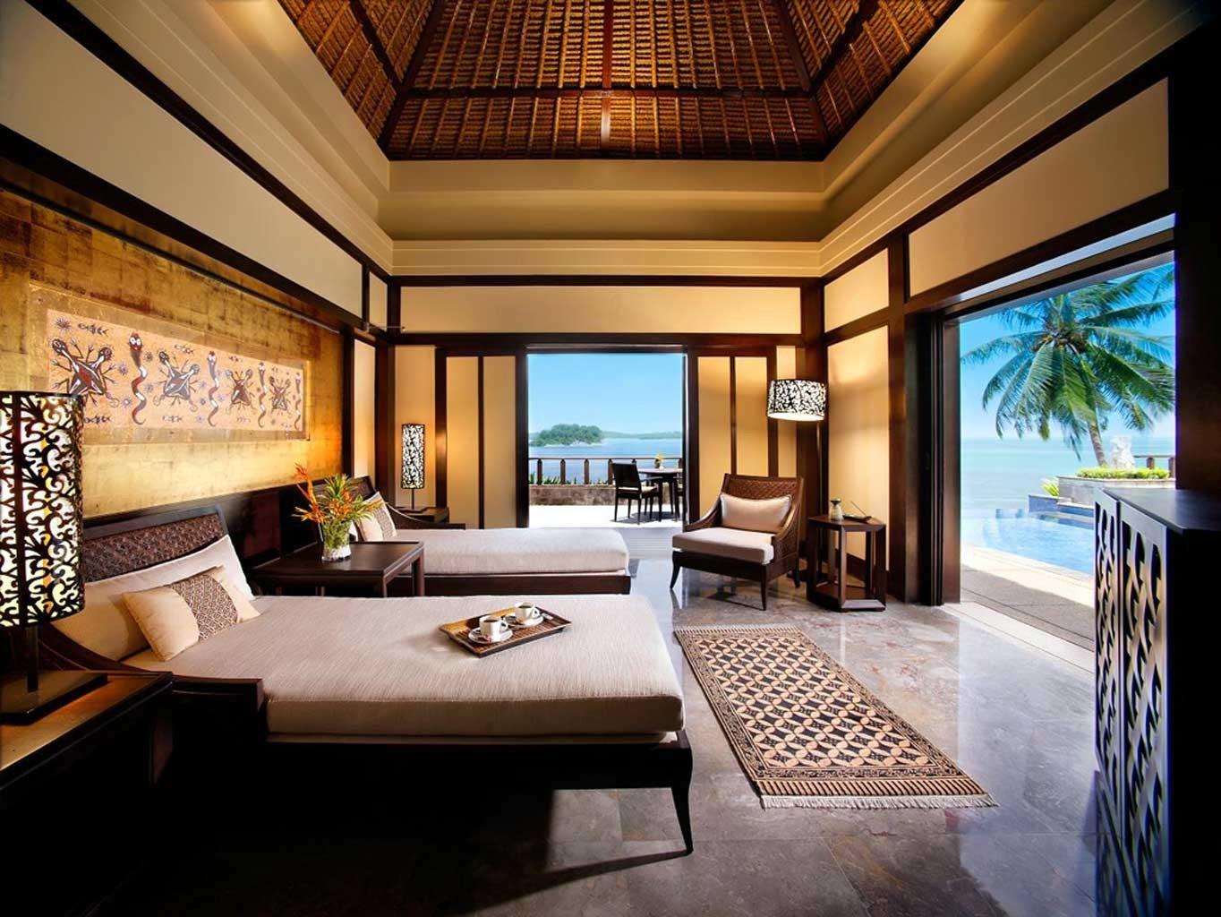 Bedroom Elegant Hip Luxury Suite property living room condominium home Villa Resort mansion