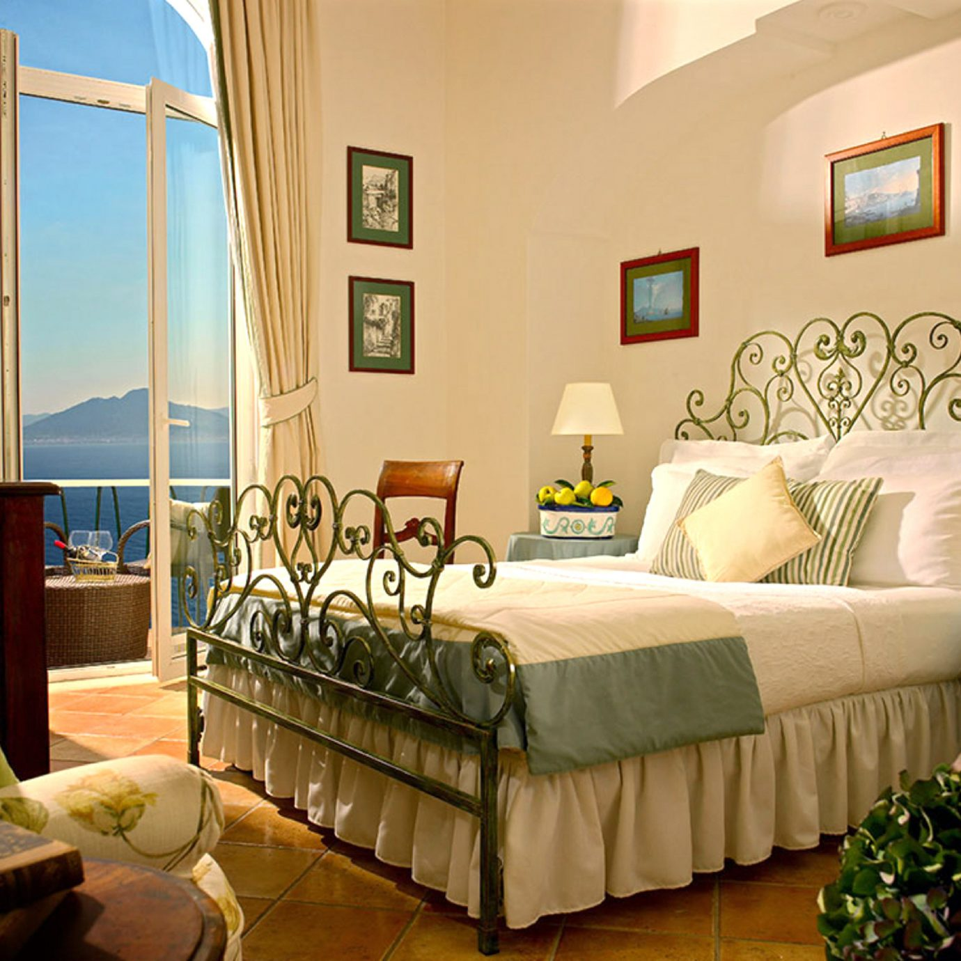 Bedroom Elegant Honeymoon Luxury Romantic Waterfront sofa property living room home Suite cottage Villa