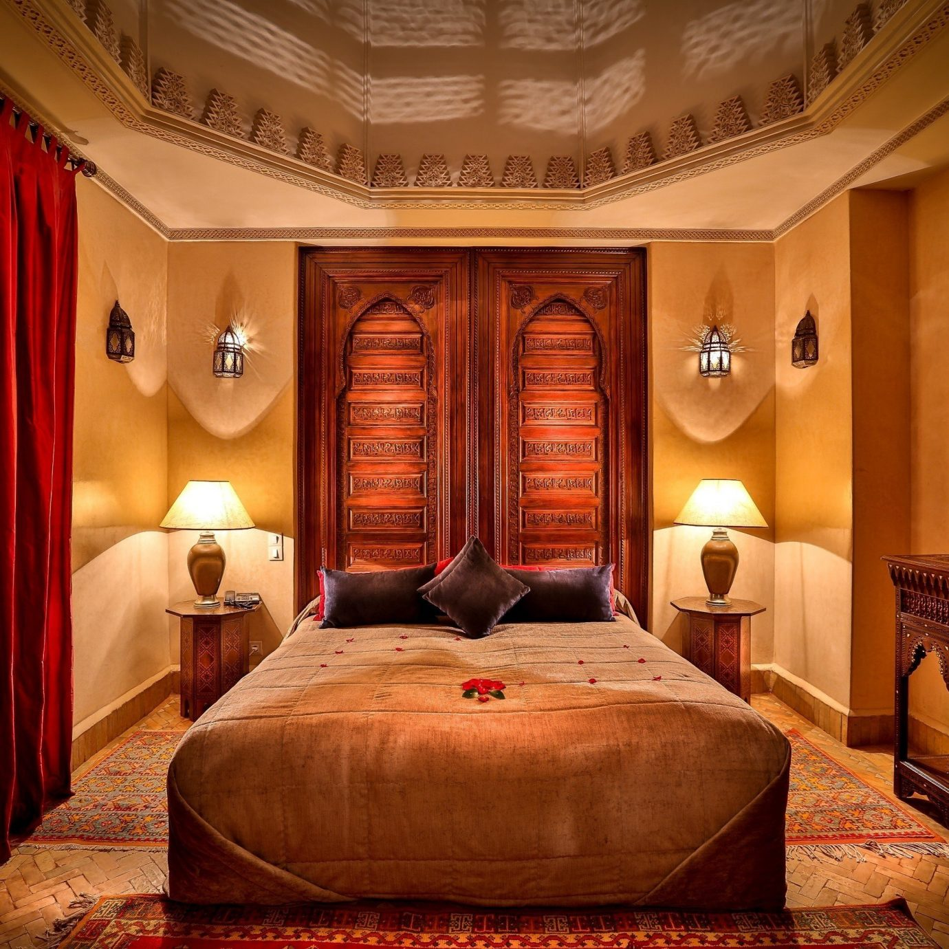 curtain Bedroom Suite mansion Lobby