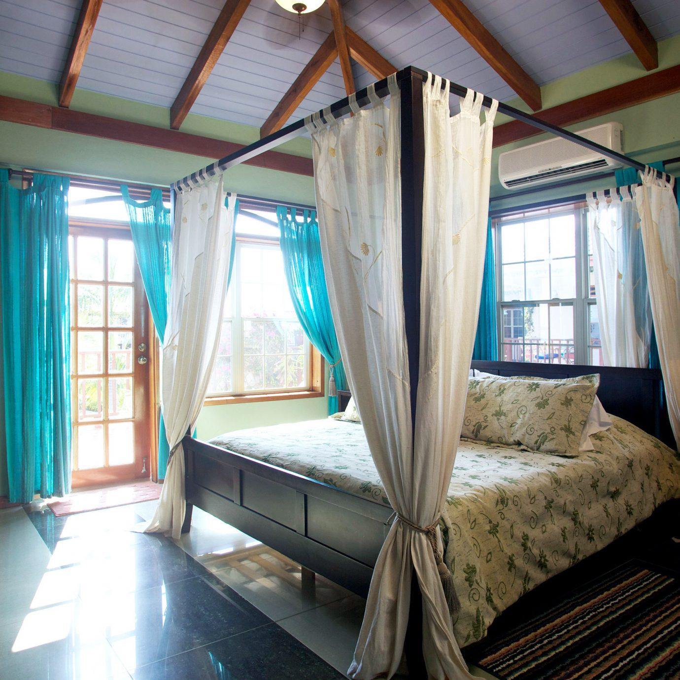 Bedroom Modern property house building cottage home living room Villa Suite