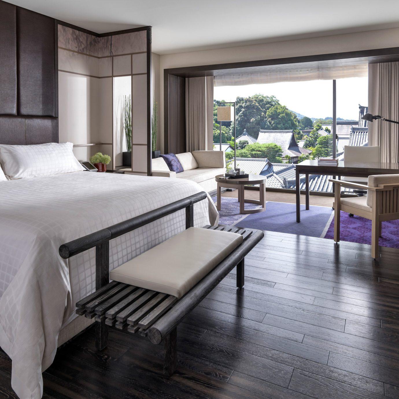 property Bedroom hardwood home living room condominium Suite wood flooring cottage