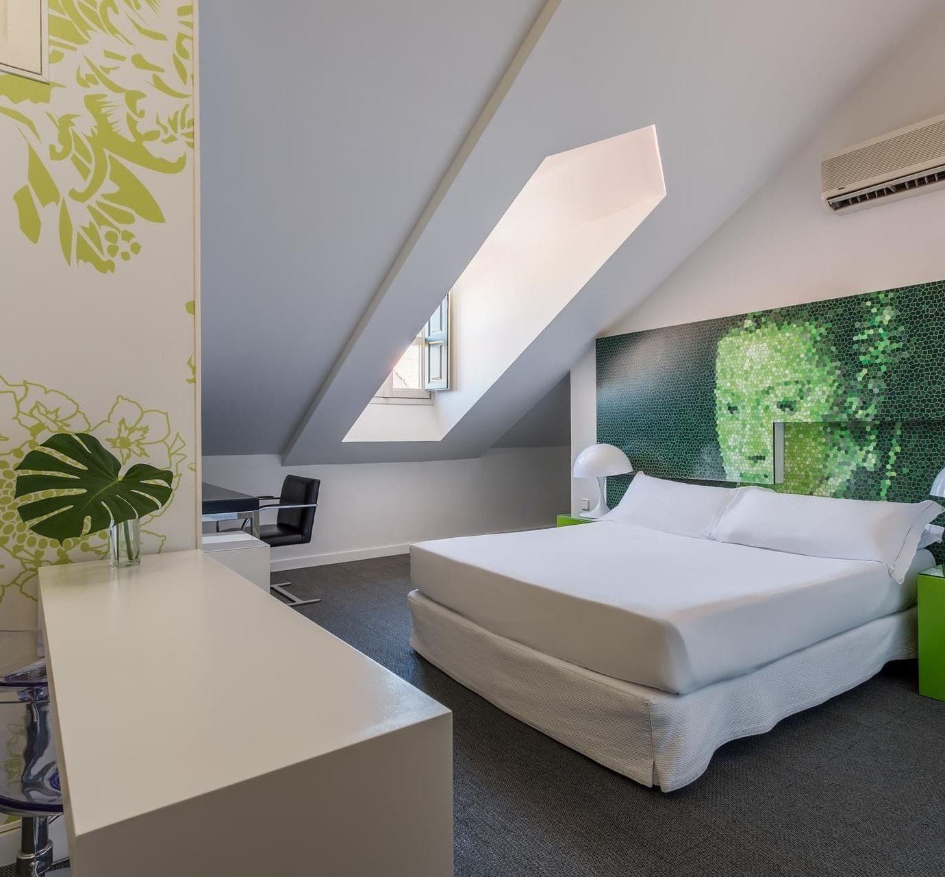 property Bedroom living room green flooring Suite
