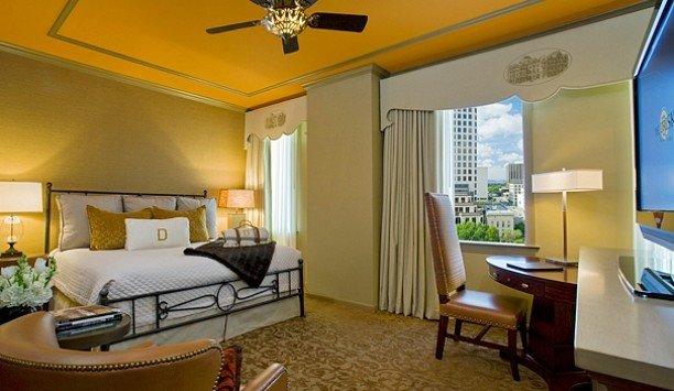 Suite yellow Bedroom home interior designer living room