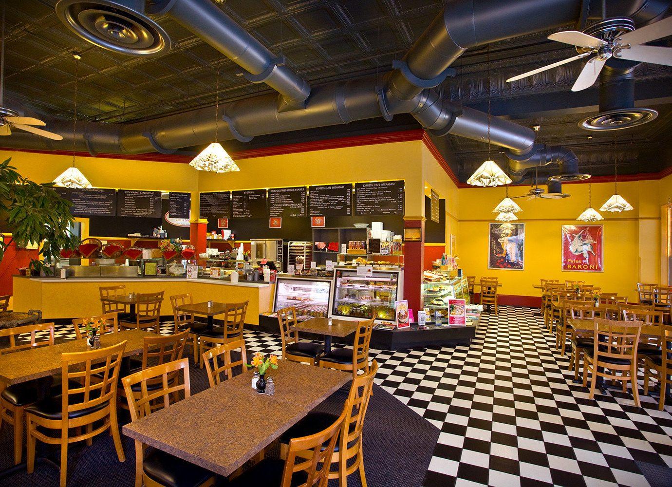 Boutique Hotels Food + Drink Girls Getaways Weekend Getaways ceiling indoor restaurant interior design function hall scene food court café fast food restaurant buffet cafeteria area