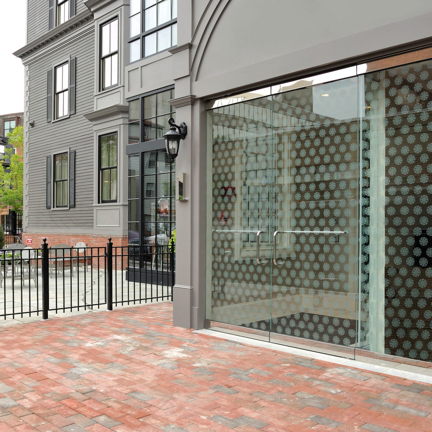 Boutique Budget Classic Exterior Modern building ground property sidewalk residential area Courtyard outdoor structure gate walkway