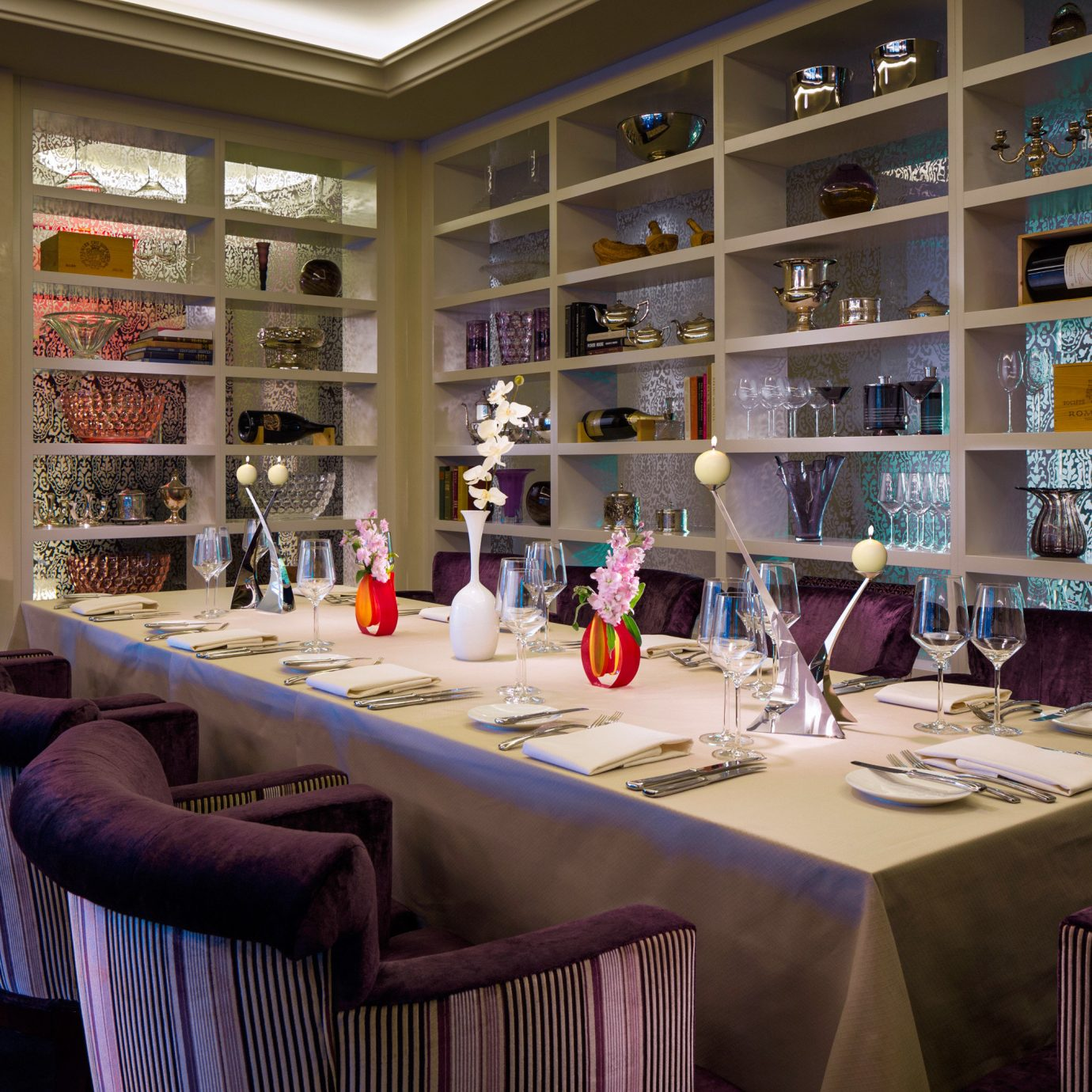 Boutique City Dining Drink Eat Hip Modern building restaurant retail library