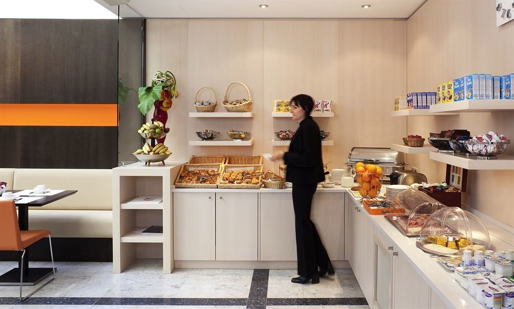 floristry counter home Boutique retail food Kitchen cabinetry