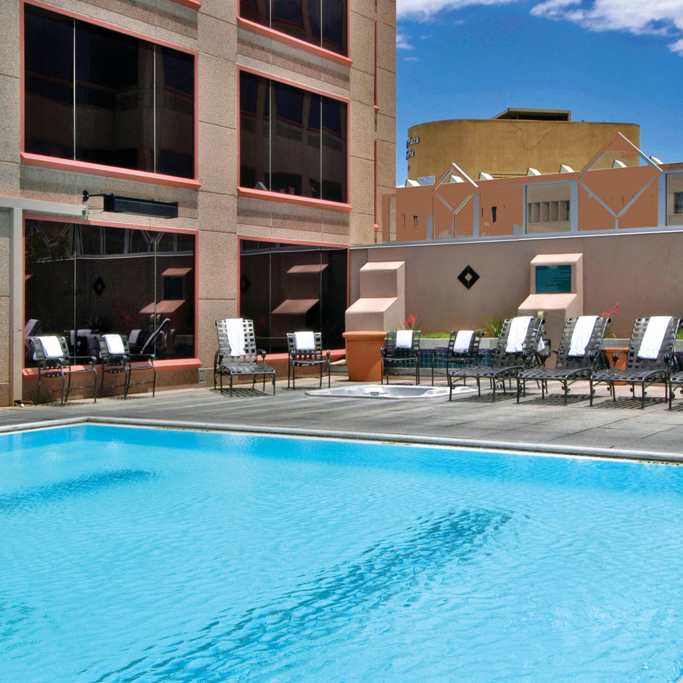 Business Classic Deck Lounge Patio Pool building water swimming swimming pool leisure property Resort water sport condominium leisure centre blue Villa
