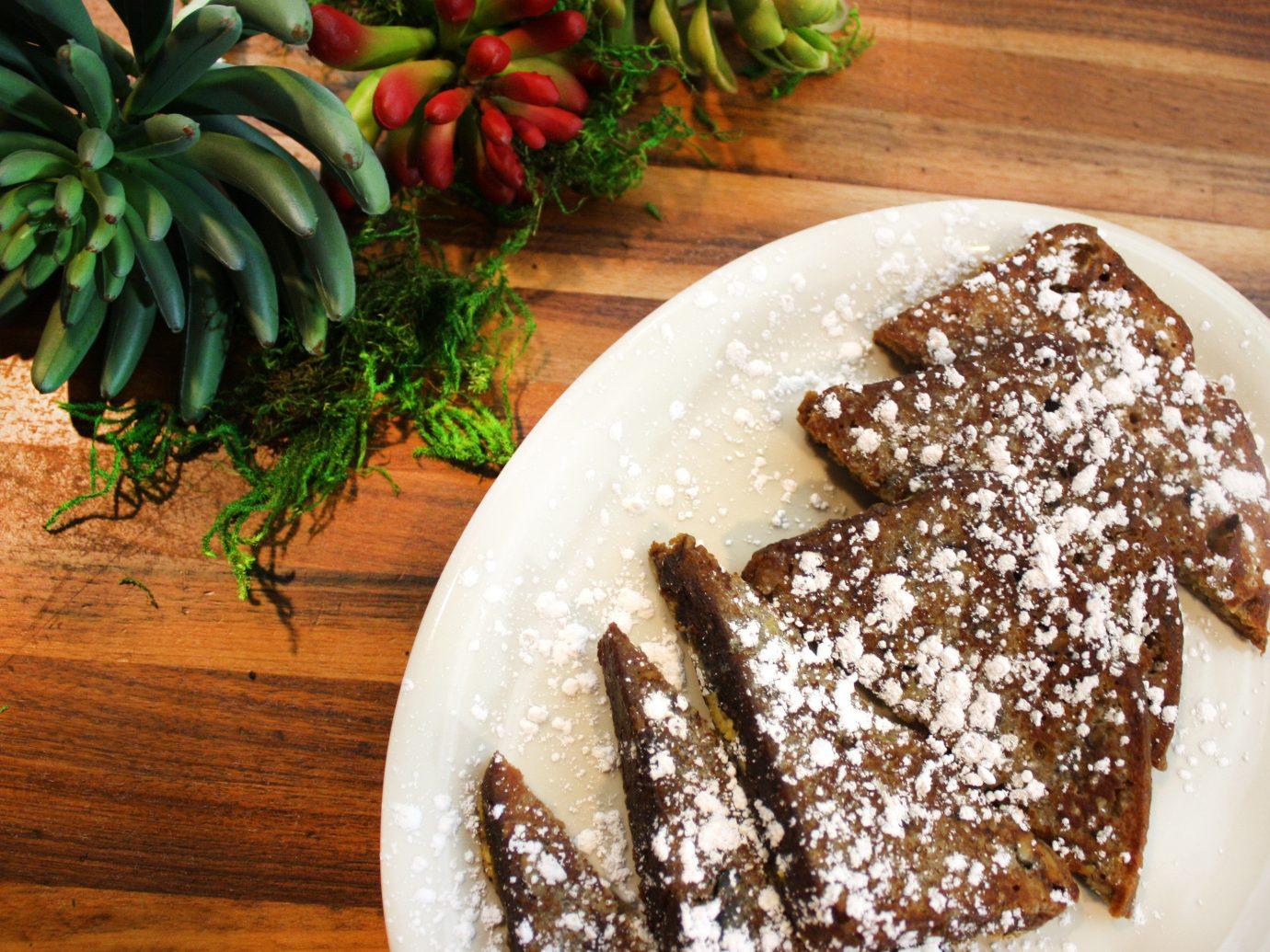 Food + Drink plate food table plant dish meal piece produce land plant breakfast dessert coconut flavor slice baking fresh