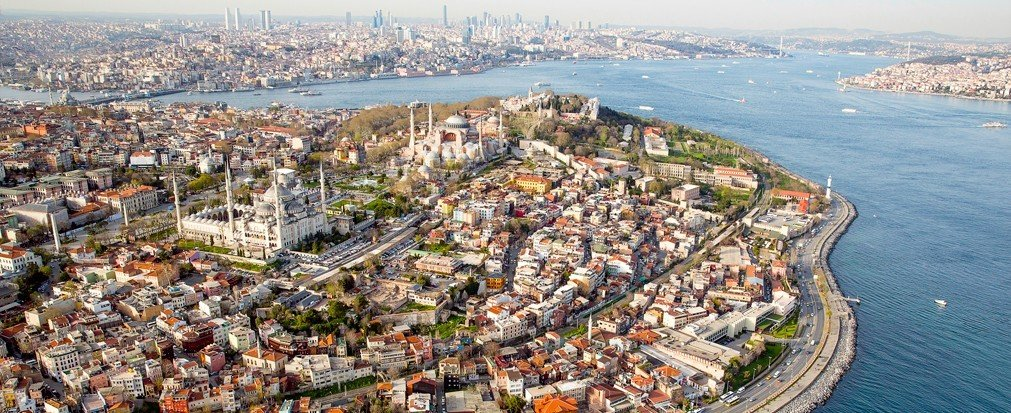 Arts + Culture aerial photography outdoor bird's eye view photography Town Nature residential area City marina cityscape panorama shore