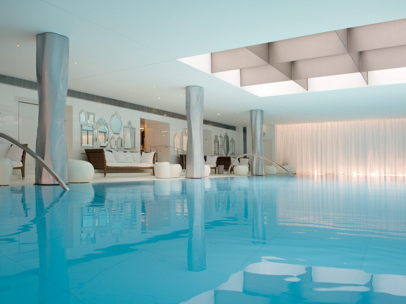 Hotels Pool Romance indoor swimming pool property leisure centre condominium interior design estate