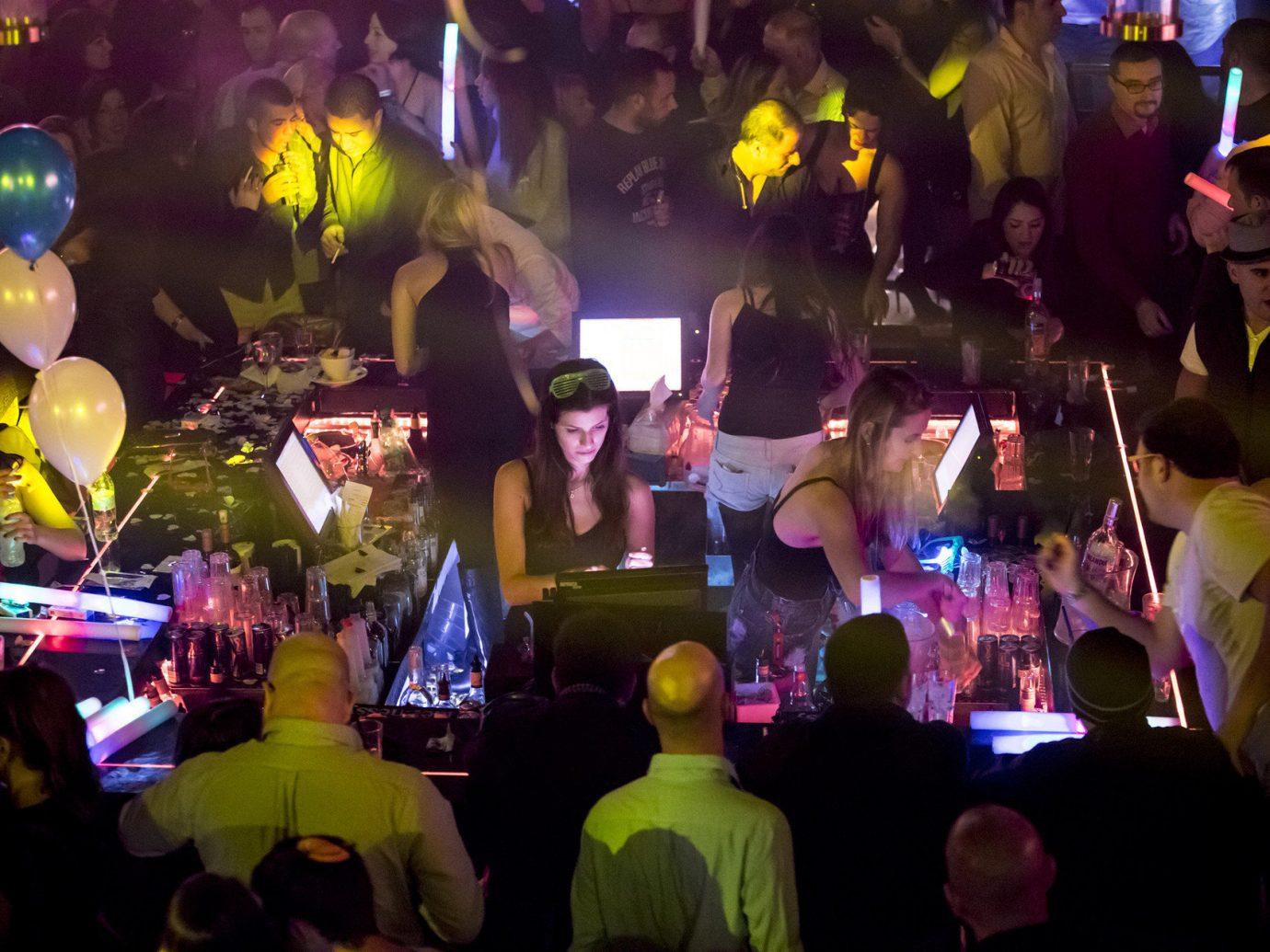 Bar City Drink Nightlife Trip Ideas person color crowd nightclub disco night Music Party rave club music venue