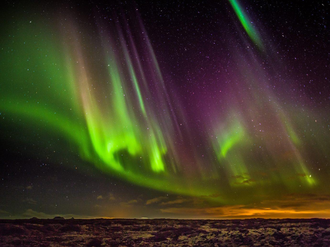 Iceland Trip Ideas aurora atmosphere Night Sky