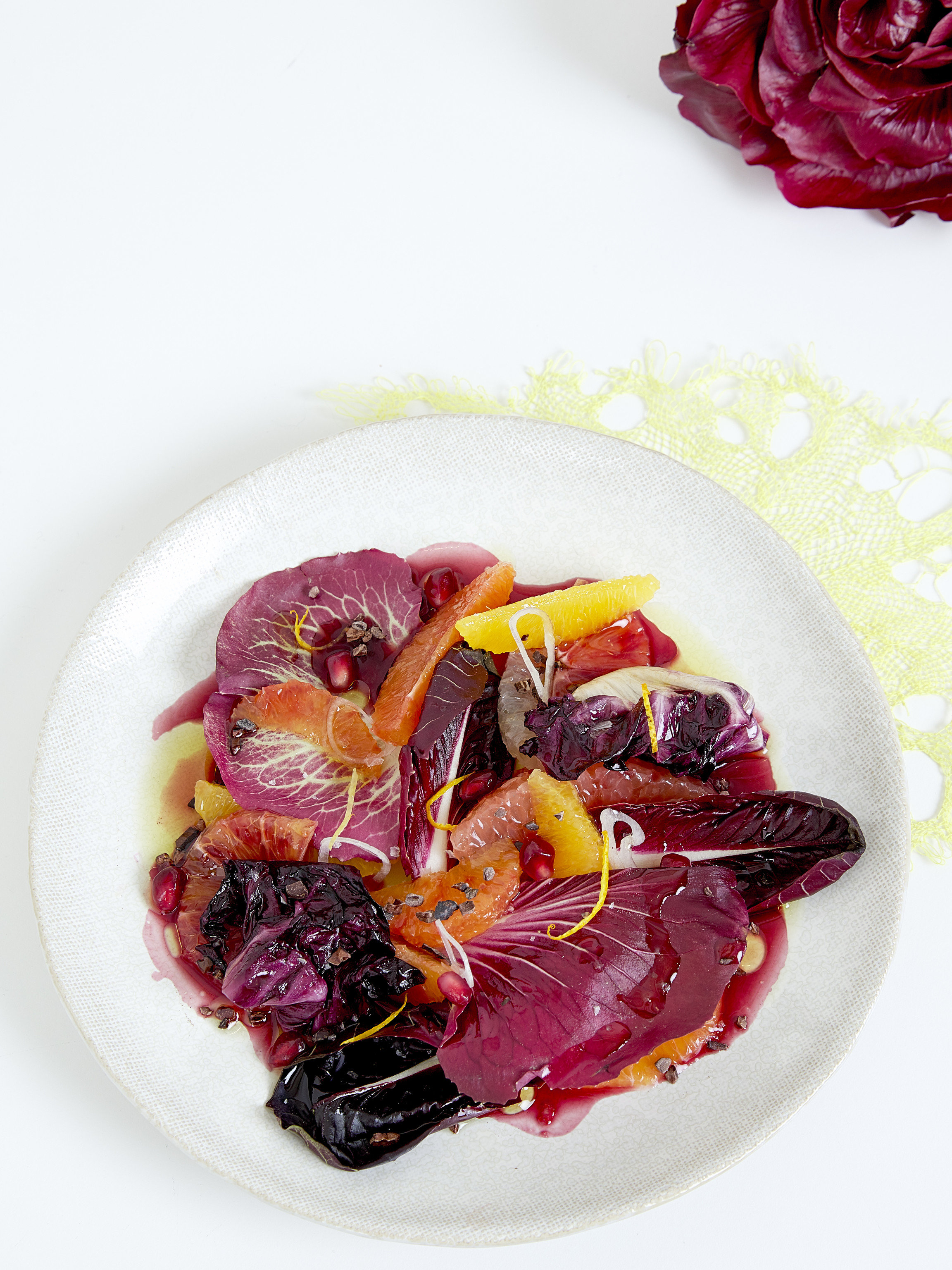 Trip Ideas plate food dish produce indoor vegetable plant land plant white fruit red cabbage flowering plant meat meal