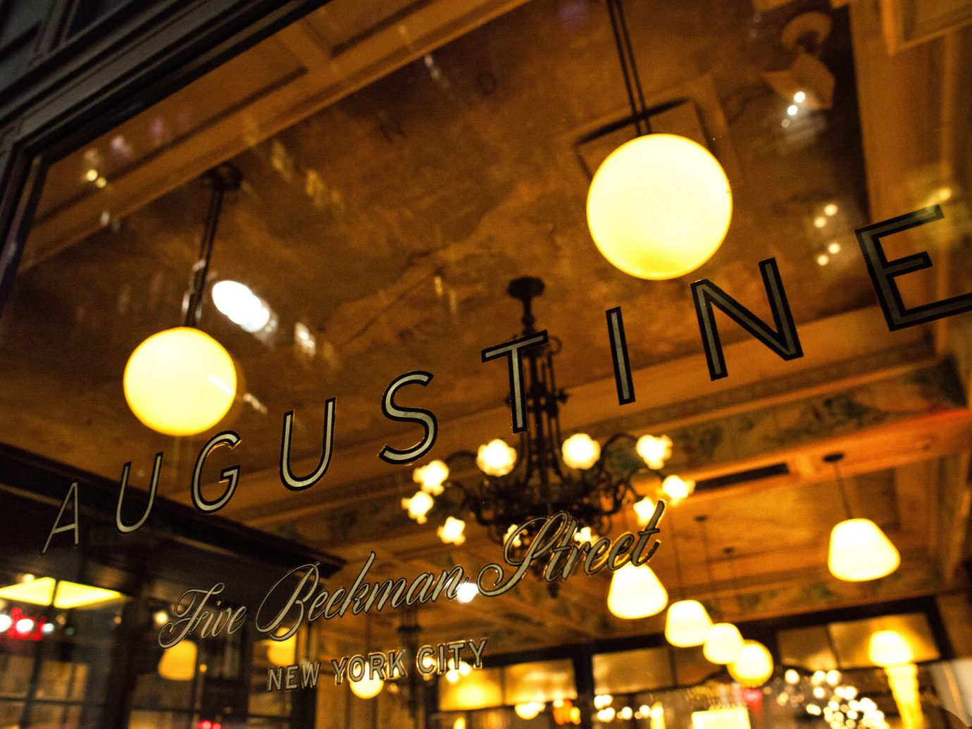 Food + Drink Romance indoor ceiling night light restaurant lighting evening several