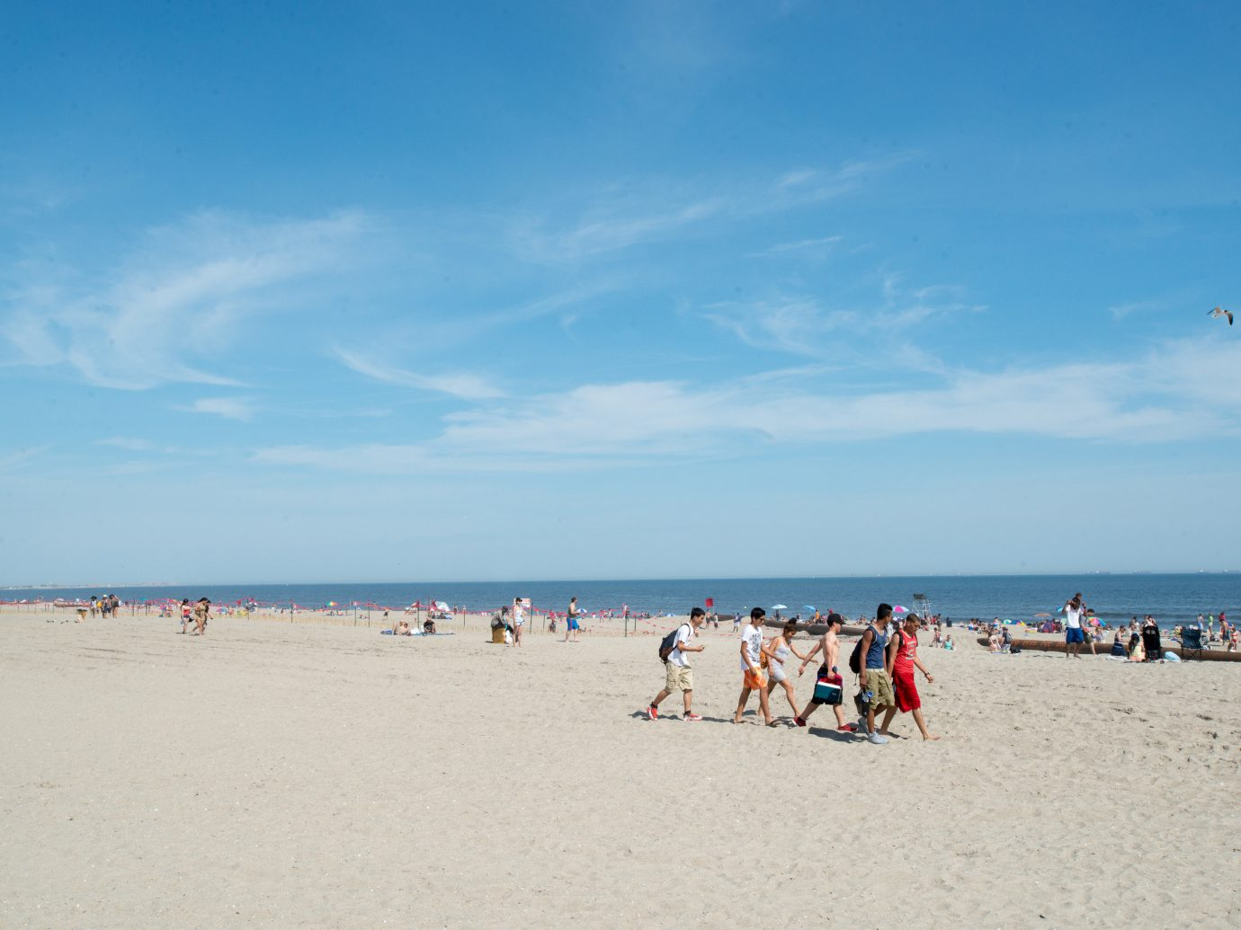 Trip Ideas sky outdoor Beach people shore Nature body of water Sea Coast Ocean group sand vacation cape bay crowd day