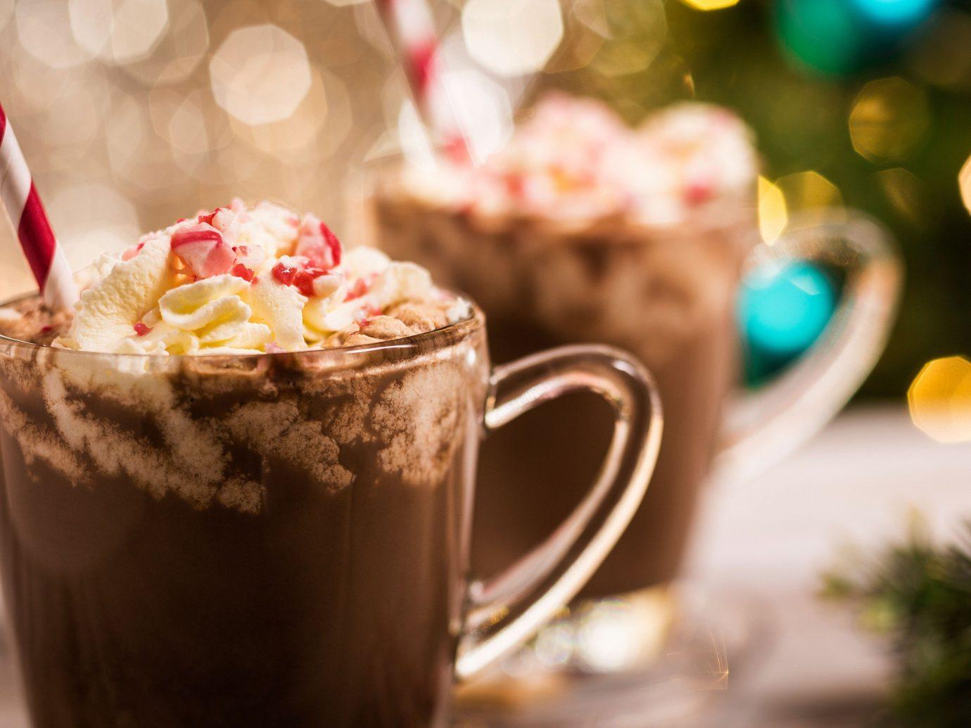 Food + Drink cup coffee table food beverage Drink dessert sweetness flavor meal