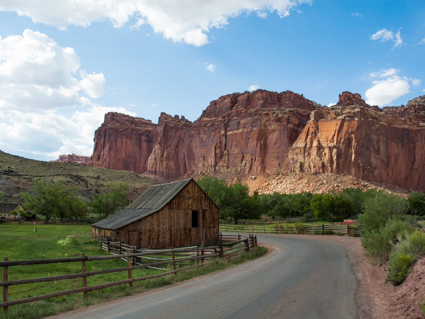 National Parks Outdoors + Adventure Trip Ideas grass sky mountain outdoor mountainous landforms geographical feature landform badlands valley Nature canyon landscape rock wadi rural area old plateau road trip geology terrain national park cliff park lush