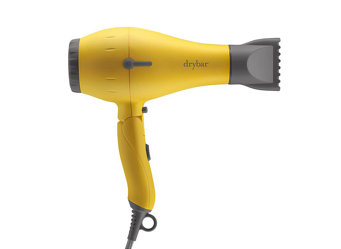 Style + Design appliance dryer hair dryer yellow product