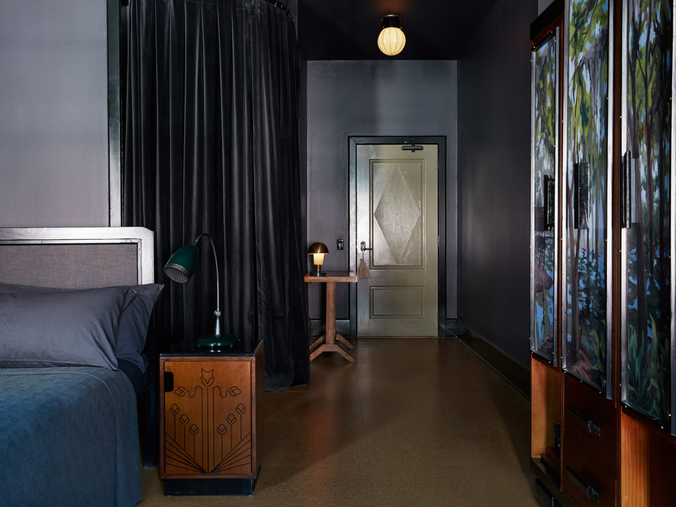 Hotels indoor floor room wall Living property house home interior design estate cottage apartment Suite furniture lamp