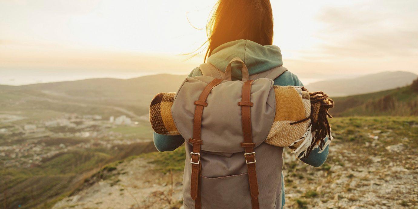 Travel Tips sky outdoor mountain screenshot hand Adventure overlooking distance