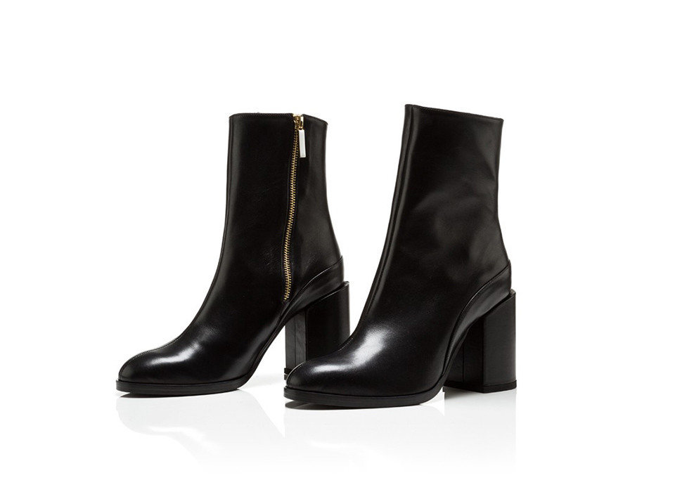 Style + Design clothing footwear boot high heeled footwear shoe black riding boot product product design
