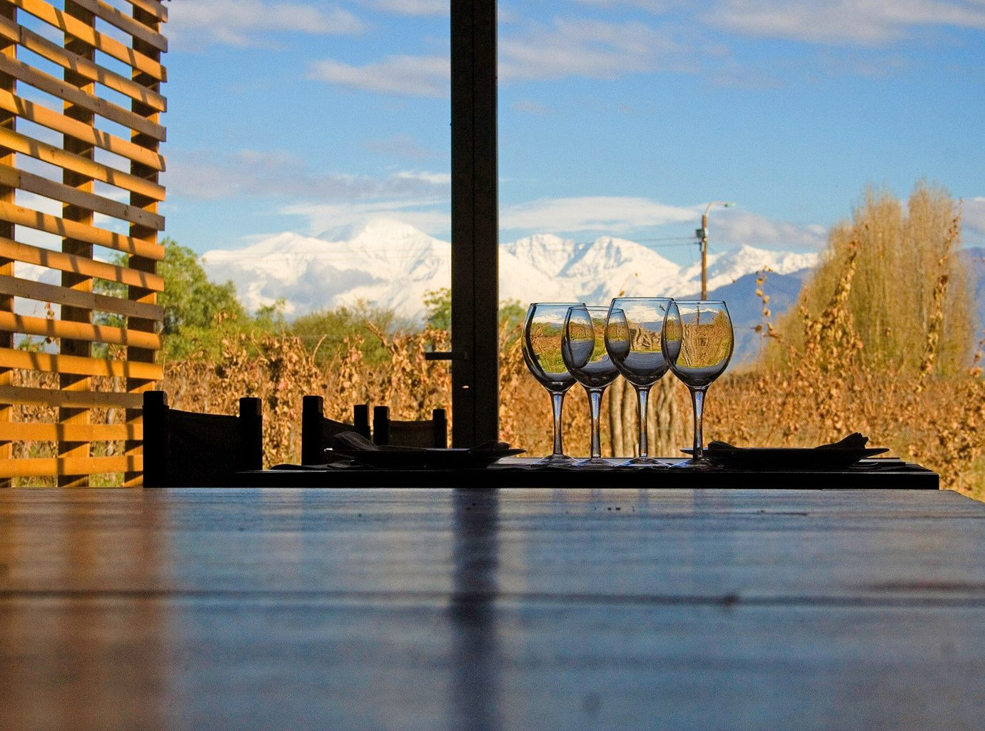 Country Drink Mountains Scenic views Trip Ideas Vineyard Wine-Tasting sky reflection outdoor landmark wood evening sunlight cityscape