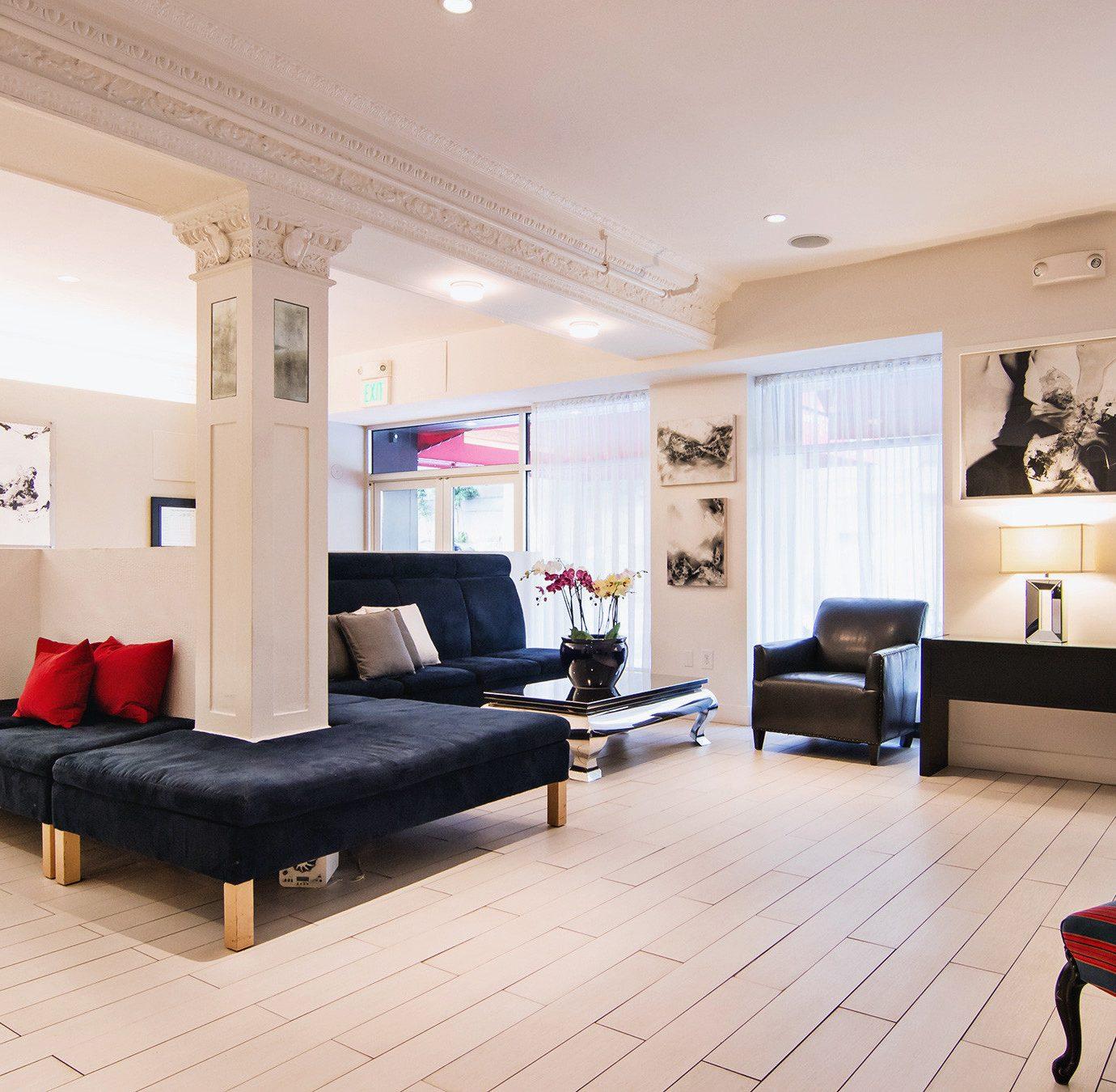 City Hip Lobby Lounge property living room home Suite condominium