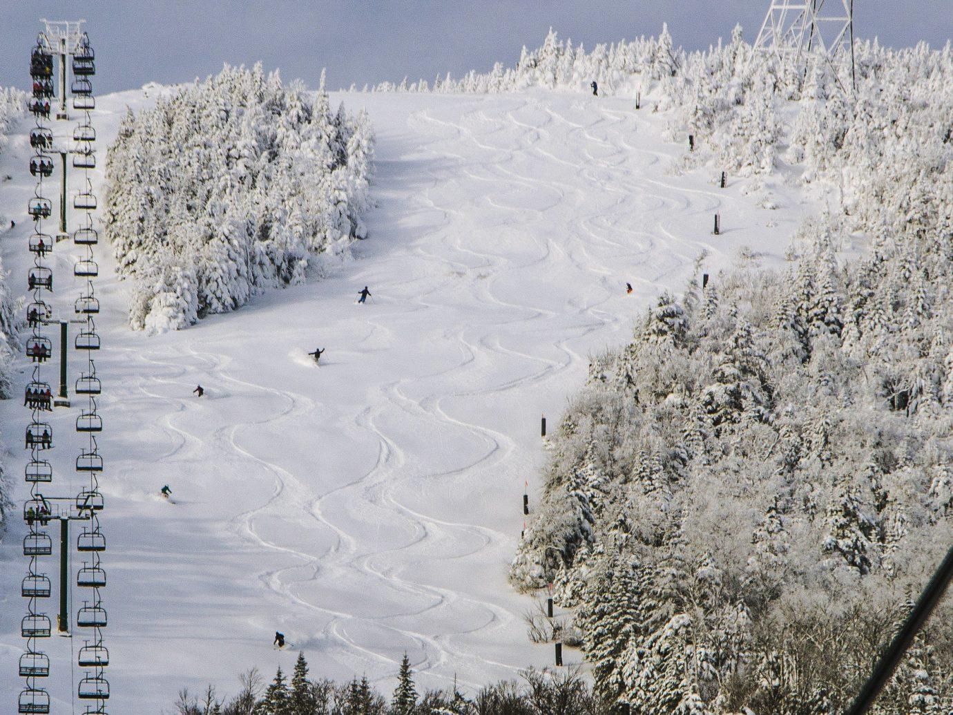 alpine skiing East Coast USA Trip Ideas snow Winter sky freezing frost tree geological phenomenon ice landscape branch