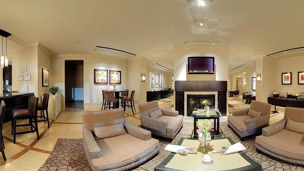 Classic Dining Fireplace sofa property living room condominium Lobby Suite home mansion Villa