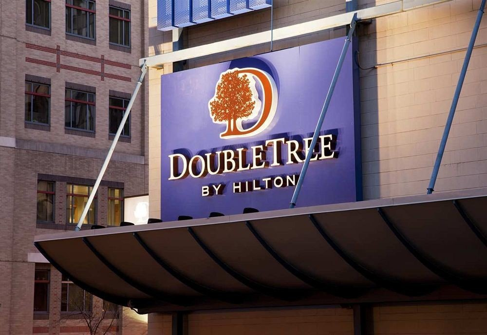 Classic Exterior building advertising signage banner display device sign shape restaurant