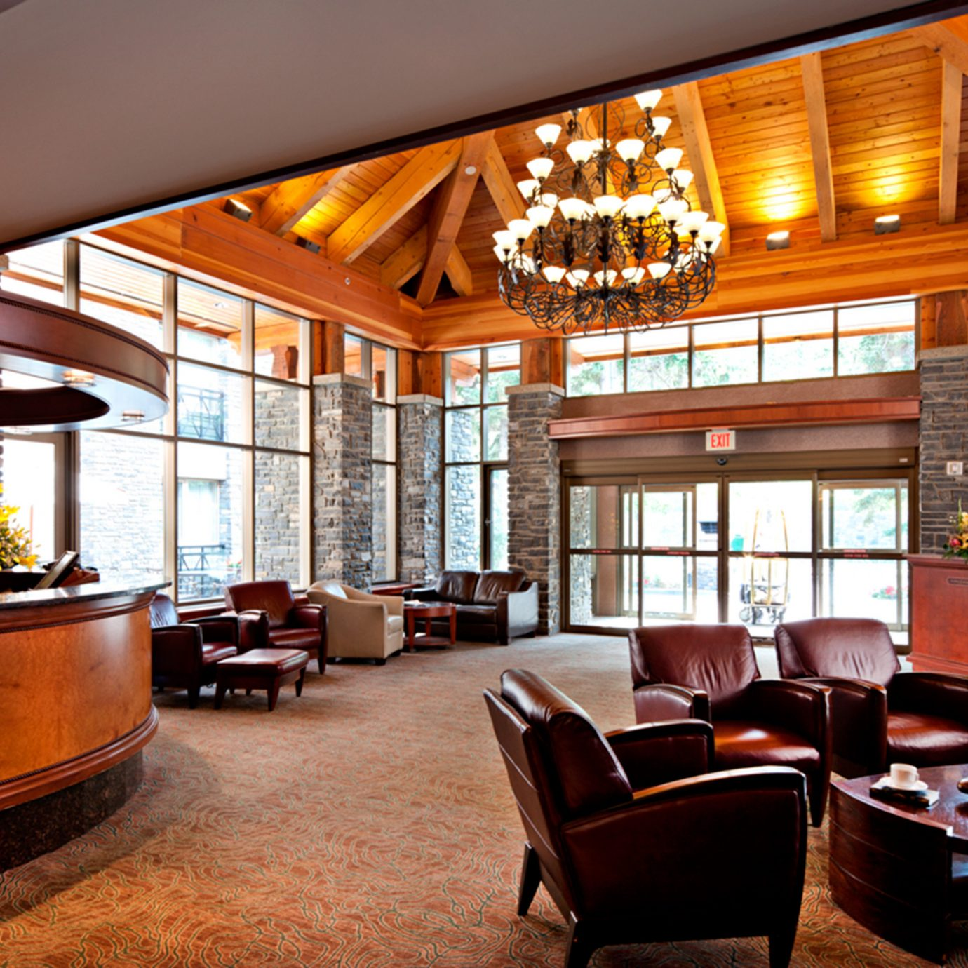 Classic Lobby Lodge Lounge property living room home house Resort